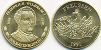 vergoldete Kupfer/Nickel Medaille 1991 BRD Friedrich Wilhelm I. - Solda... 7,00 EUR  +  1,80 EUR shipping
