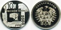 Kupfer/Nickel Medaille 2000 BRD 10 Jahre Deutsche Einheit ex Polierte P... 2,00 EUR  +  1,80 EUR shipping