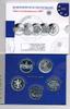 5x 10 Euro 2007 BRD Gedenkmünzen Set 2007 im Blister Polierte Platte/Pr... 95,00 EUR  +  6,50 EUR shipping
