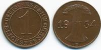 1 Reichspfennig 1934 D Weimarer Republik Kupfer vorzüglich - minimal fl... 1,80 EUR  +  1,80 EUR shipping