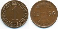 1 Reichspfennig 1936 G Weimarer Republik Kupfer vorzüglich - etwas schw... 2,50 EUR  +  1,80 EUR shipping