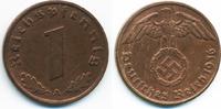 1 Reichspfennig 1936 A Drittes Reich Kupfer sehr schön+ - leicht gerein... 8,00 EUR  +  1,80 EUR shipping