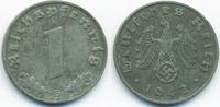 1 Reichspfennig 1942 B Drittes Reich Zink sehr schön+ - etwas rau  1,50 EUR  +  1,80 EUR shipping