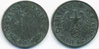 1 Reichspfennig 1942 E Drittes Reich Zink vorzüglich - minimal fleckig  2,00 EUR  +  1,80 EUR shipping