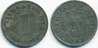 1 Reichspfennig 1942 F Drittes Reich Zink sehr schön - etwas fleckig  0,60 EUR  +  1,80 EUR shipping