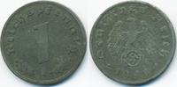 1 Reichspfennig 1944 A Drittes Reich Zink sehr schön+ - etwas rau  0,80 EUR  +  1,80 EUR shipping