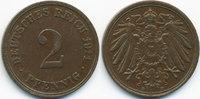 2 Pfennig 1911 D Kaiserreich großer Adler - Kupfer sehr schön/vorzüglic... 2,50 EUR  +  1,80 EUR shipping