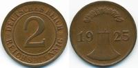 2 Reichspfennig 1925 D Weimarer Republik großer Adler - Kupfer gutes vo... 3,50 EUR  +  1,80 EUR shipping