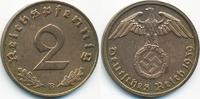 2 Reichspfennig 1939 B Drittes Reich Kupfer fast vorzüglich - gereinigt  1,40 EUR  +  1,80 EUR shipping