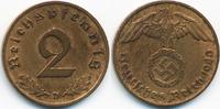 2 Reichspfennig 1940 D Drittes Reich Kupfer sehr schön/vorzüglich - ger... 3,50 EUR  +  1,80 EUR shipping