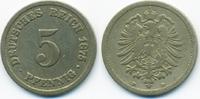 5 Pfennig 1875 B Kaiserreich kleiner Adler - Kupfer/Nickel schön/sehr s... 1,80 EUR  +  1,80 EUR shipping