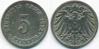 5 Pfennig 1892 G Kaiserreich großer Adler - Kupfer/Nickel schön/sehr sc... 8,50 EUR  +  1,80 EUR shipping