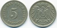 5 Pfennig 1913 F Kaiserreich großer Adler - Kupfer/Nickel sehr schön  0,80 EUR  +  1,80 EUR shipping