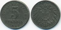 5 Pfennig 1922 D Ersatzmünze 1.WK Eisen fast vorzüglich - etwas schwach... 0,80 EUR  +  1,80 EUR shipping
