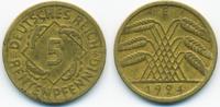 5 Rentenpfennig 1924 E Weimarer Republik Kupfer/Aluminium sehr schön  0,80 EUR  +  1,80 EUR shipping