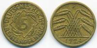 5 Rentenpfennig 1924 F Weimarer Republik Kupfer/Aluminium sehr schön+  1,00 EUR  +  1,80 EUR shipping