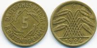 5 Rentenpfennig 1924 G Weimarer Republik Kupfer/Aluminium sehr schön+  1,20 EUR  +  1,80 EUR shipping