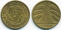 5 Rentenpfennig 1924 J Weimarer Republik Kupfer/Aluminium sehr schön+  1,20 EUR  +  1,80 EUR shipping