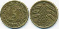 5 Reichspfennig 1924 D Weimarer Republik Kupfer/Aluminium sehr schön+ -... 1,40 EUR  +  1,80 EUR shipping
