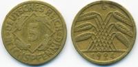 5 Reichspfennig 1924 G Weimarer Republik Kupfer/Aluminium sehr schön - ... 1,50 EUR  +  1,80 EUR shipping