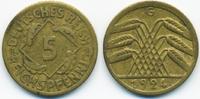 5 Reichspfennig 1924 G Weimarer Republik Kupfer/Aluminium sehr schön  1,80 EUR  +  1,80 EUR shipping