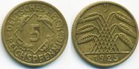 5 Reichspfennig 1925 J Weimarer Republik Kupfer/Aluminium sehr schön+  3,00 EUR  +  1,80 EUR shipping
