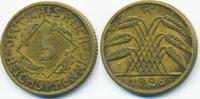5 Reichspfennig 1926 A Weimarer Republik Kupfer/Aluminium gutes sehr sc... 0,80 EUR  +  1,80 EUR shipping