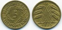 5 Reichspfennig 1935 G Weimarer Republik Kupfer/Aluminium sehr schön/vo... 3,00 EUR  +  1,80 EUR shipping