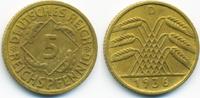 5 Reichspfennig 1936 D Weimarer Republik Kupfer/Aluminium sehr schön/vo... 1,40 EUR  +  1,80 EUR shipping