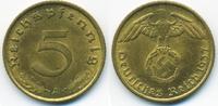 5 Reichspfennig 1937 A Drittes Reich Kupfer/Aluminium vorzüglich  2,80 EUR  +  1,80 EUR shipping