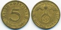 5 Reichspfennig 1938 D Drittes Reich Kupfer/Aluminium sehr schön - mini... 0,80 EUR  +  1,80 EUR shipping