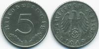 5 Reichspfennig 1940 A Drittes Reich Zink sehr schön/vorzüglich  1,40 EUR  +  1,80 EUR shipping