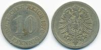 10 Pfennig 1876 E Kaiserreich kleiner Adler - Kupfer/Nickel schön  1,50 EUR  +  1,80 EUR shipping