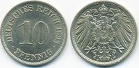 10 Pfennig 1893 A Kaiserreich großer Adler - Kupfer/Nickel fast prägefr... 45,00 EUR  +  4,80 EUR shipping
