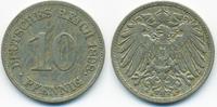10 Pfennig 1898 E Kaiserreich großer Adler - Kupfer/Nickel sehr schön  3,20 EUR  +  1,80 EUR shipping