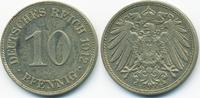10 Pfennig 1912 E Kaiserreich großer Adler - Kupfer/Nickel sehr schön/v... 2,20 EUR  +  1,80 EUR shipping