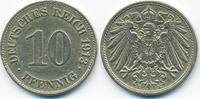 10 Pfennig 1913 E Kaiserreich großer Adler - Kupfer/Nickel sehr schön+ ... 1,00 EUR  +  1,80 EUR shipping