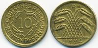 10 Rentenpfennig 1924 D Weimarer Republik Kupfer/Aluminium fast vorzügl... 2,00 EUR  +  1,80 EUR shipping