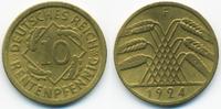 10 Rentenpfennig 1924 F Weimarer Republik Kupfer/Aluminium sehr schön  0,80 EUR  +  1,80 EUR shipping