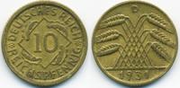 10 Reichspfennig 1931 D Weimarer Republik Kupfer/Aluminium sehr schön+  45,00 EUR  +  4,80 EUR shipping