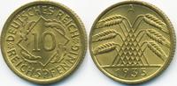 10 Reichspfennig 1935 A Weimarer Republik Kupfer/Aluminium prägefrisch/... 7,00 EUR  +  1,80 EUR shipping