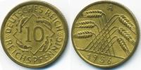 10 Reichspfennig 1936 A Weimarer Republik Kupfer/Aluminium vorzüglich  3,00 EUR  +  1,80 EUR shipping