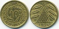 10 Reichspfennig 1936 E Weimarer Republik Kupfer/Aluminium sehr schön+ ... 2,50 EUR  +  1,80 EUR shipping
