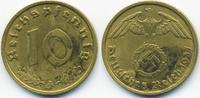10 Reichspfennig 1937 A Drittes Reich Kupfer/Aluminium sehr schön+ - mi... 1,00 EUR  +  1,80 EUR shipping
