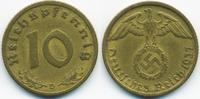 10 Reichspfennig 1937 D Drittes Reich Kupfer/Aluminium gutes sehr schön  1,50 EUR  +  1,80 EUR shipping