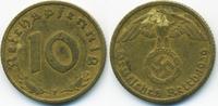 10 Reichspfennig 1939 F Drittes Reich Kupfer/Aluminium sehr schön - min... 1,20 EUR  +  1,80 EUR shipping