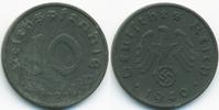 10 Reichspfennig 1940 D Drittes Reich Zink fast vorzüglich  3,50 EUR  +  1,80 EUR shipping