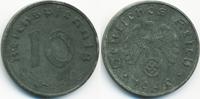 10 Reichspfennig 1940 E Drittes Reich Zink fast vorzüglich  4,00 EUR  +  1,80 EUR shipping