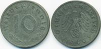 10 Reichspfennig 1940 F Drittes Reich Zink sehr schön+  3,50 EUR  +  1,80 EUR shipping