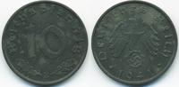 10 Reichspfennig 1941 B Drittes Reich Zink vorzüglich - minimal fleckig  2,50 EUR  +  1,80 EUR shipping